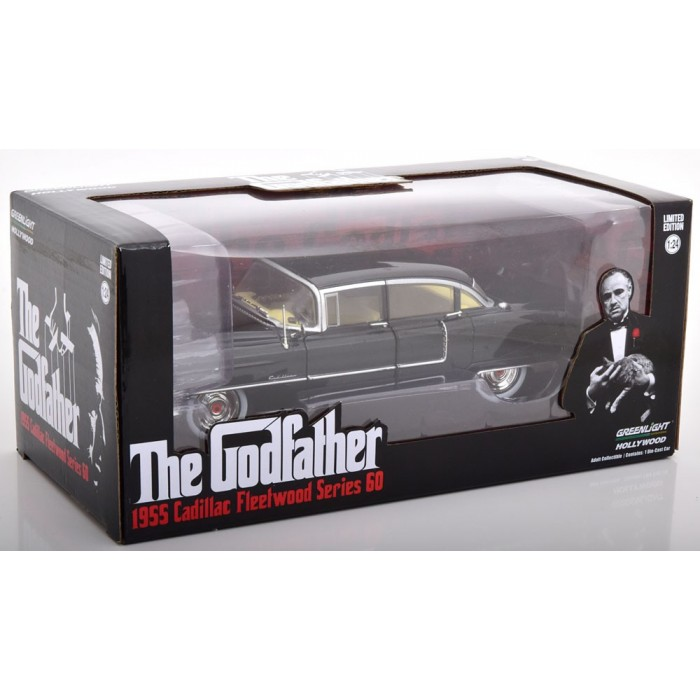 Modellino Greenlight Col. Cadillac Fleetwood Series 60 The Godfather