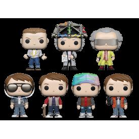 Funko Pop! Figure Collezione Ritorno al Futuro (Scegli Il Personaggio)