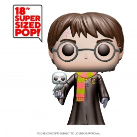 Funko Pop! Exclusive Figure Harry Potter with Hedwig 48 cm GIGANTE Oversize