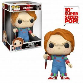 Funko Pop! Exclusive Chucky (With Knife) Child's Play SUPERSIZE