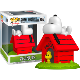 Funko Pop! Exclusive Snoopy & Woodstock with Doghouse Peanuts
