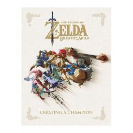 Libro Art Book Creating a Champion Legend of Zelda Breath of the Wild