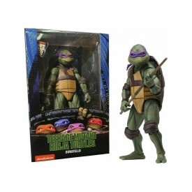 Action Figure NECA Donatello Teenage Mutant Ninja Turtles 1990