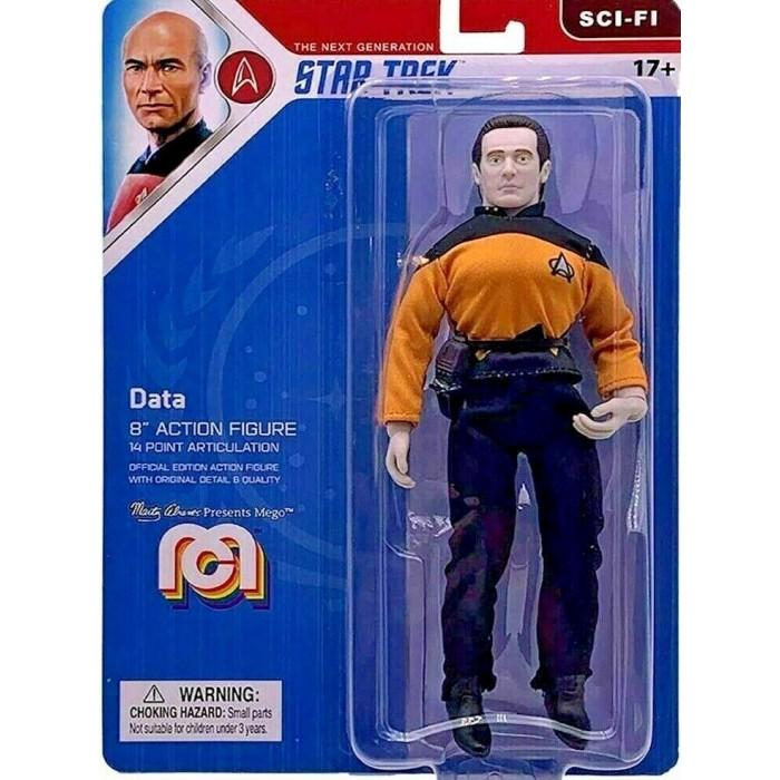 Action Figure MEGO Data Star Trek The Next Generation