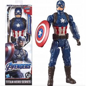Action Figure Titan Hero Series Captain America Marvel Avengers