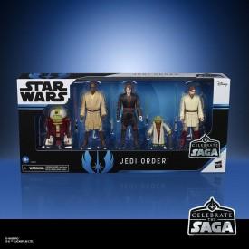 Set 5 Figures The Jedi Order Star Wars Celebrate the Saga