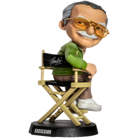 Action Figure Statuetta Stan Lee Marvel Mini-Co Excelsior!