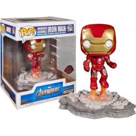 Funko Pop! EXCLUSIVE Figure Iron Man Assemble Oversize Games Academy
