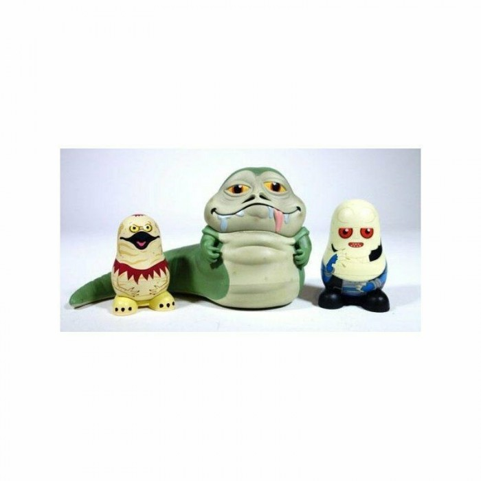 Set 3 Stackable Figures Chubby Jabba's Palace Star Wars