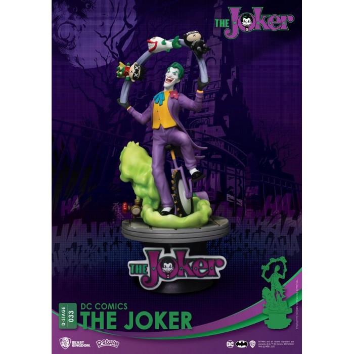Diorama Figure The Joker DC Comics D-Stage