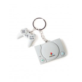 Portachiavi Sony Playstation 1 & Controller Difuzed