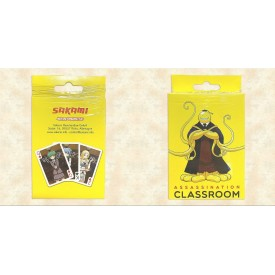 Carte da Gioco Assassination Classroom Sakami Merchandise
