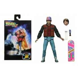 Action Figure Ultimate Edition NECA Marty McFly Ritorno al Futuro