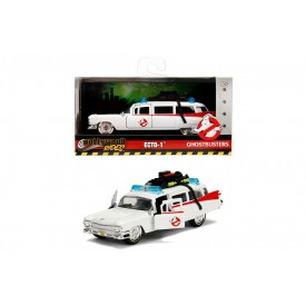 Modellino Hollywood Rides Ecto-1 Ghostbusters 1:32