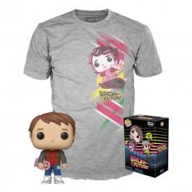 Funko Tee Box POP! + T-Shirt Marty McFly Ritorno al Futuro LIMITED