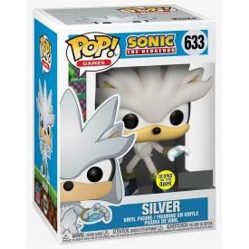 Funko Pop! Figure Silver The Hedgehog GITD Sonic The Hedgehog