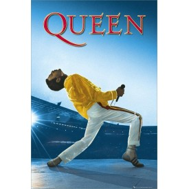 Poster Queen Live at Wembley Freddie Mercury 61x91,5 cm