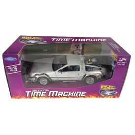 Modellino Welly DeLorean Ritorno Al Futuro 1:24