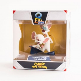 Statuetta Q Fig - Pinky and The Brain (Mignolo col Prof.)