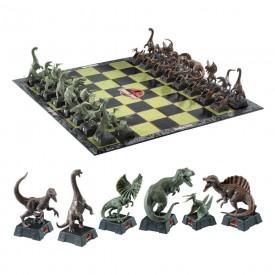 Scacchi Gioco da Tavolo Ufficiale Jurassic Park Chess Dinosauri