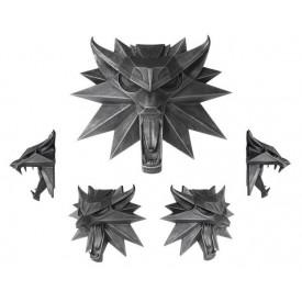 Scultura Decorativa Dark Horse Wolf Symbol The Witcher 3 Wild Hunt