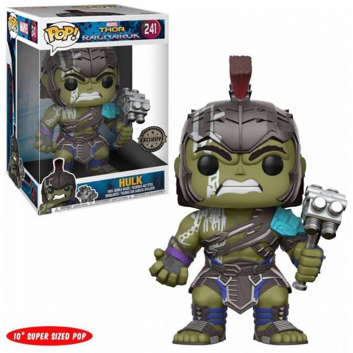Funko Pop! Exclusive Figure Hulk Thor Ragnarok SUPERSIZE