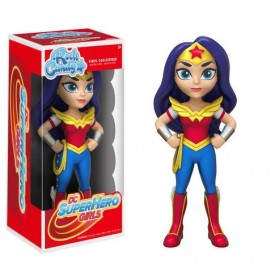 Funko Rock Candy Figure Wonder Woman DC SuperHero Girls