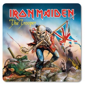 Set 6 Sottobicchieri Iron Maiden The Trooper