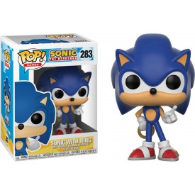 Funko Pop! Figure Sonic (With Ring) Sonic The Hedgehog