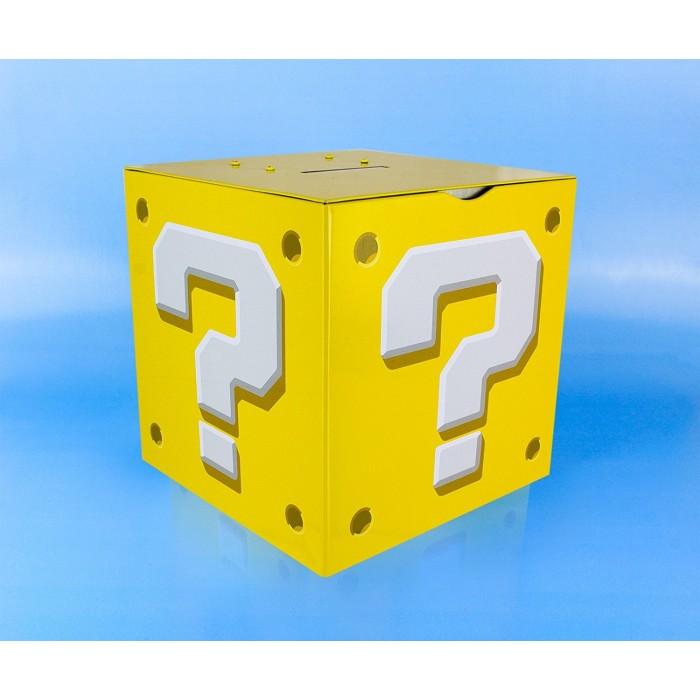 Salvadanaio con Suono Super Mario Question Block 14 cm