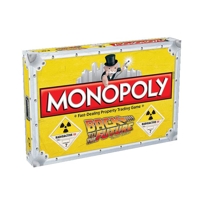 Monopoly Ufficiale Ritorno al Futuro Versione Inglese