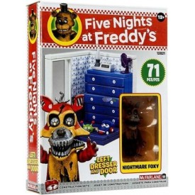 Set di Costruzioni Nightmare Foxy Five Nights at Freddy's 71 pz.