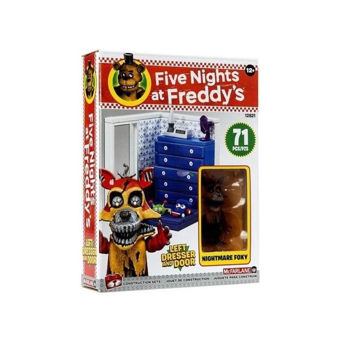 Set di Costruzioni Nightmare Foxy Five Nights at Freddy's 71 pz.