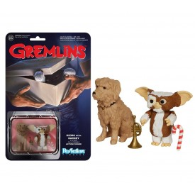 ReAction Figure Gizmo with Barney Gremlins 4 cm