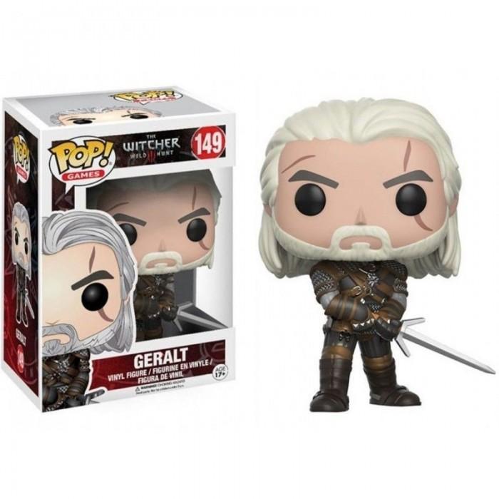 Funko Pop! Figure Geralt The Witcher III Wild Hunt 10 cm