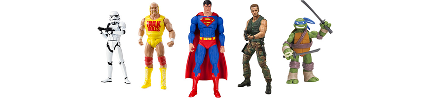 Statuette e action figures